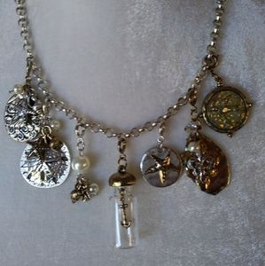 Victorian Themed Charm Necklace